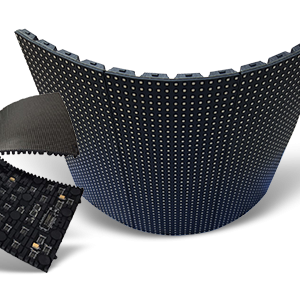 Flexible, Bendable, Curved Series LED Display