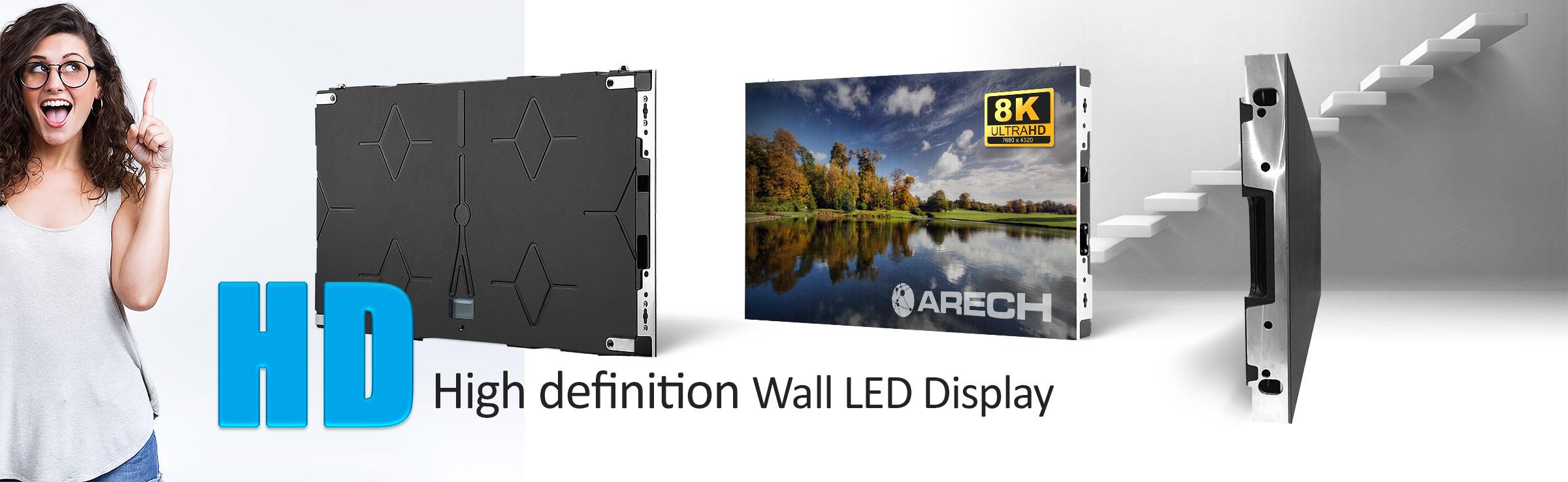 Example HD Wall TV LED Display